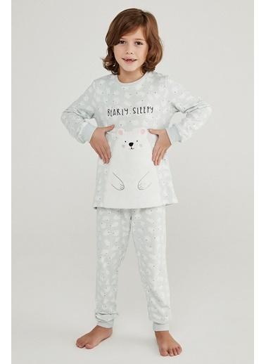Penti Erkek Çocuk Polar Bear Termal 2Li Pijama Takımı Renkli
